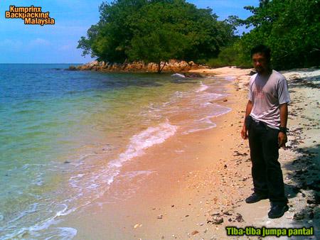 pantai yang indah